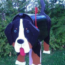 Modern Mailboxes Decorative Bernese mailboxes