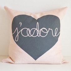 Contemporary Decorative Pillows by lovemaki