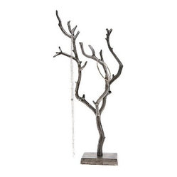 Necklace Tree Stand Jewelry Products on Houzz