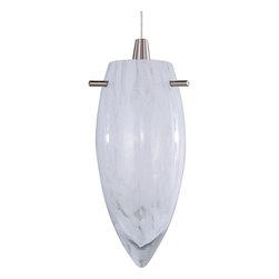 ET2 - One Light RapidJack Pendant - SKU: EP96033-113SN - One Light RapidJack Pendant
