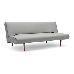 Unfurl Convertible Sofa by Innovation - Features: