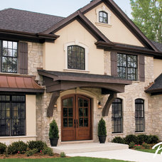 Traditional Exterior by Pella Windows and Doors
