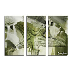 Ready2HangArt - Ready2HangArt Alexis Bueno 'Starfish' Canvas Wall Art (3-piece) - This tropical abstract canvas art set is the perfect addition to any contemporary space. It is fully finished, arriving ready to hang on the wall of your choice.