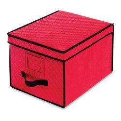 Whitmor - Christmas Ornament Storage Box - Ornament Storage Chest: