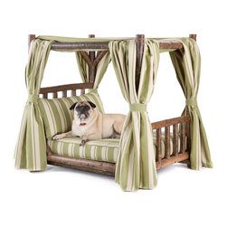 La Lune Collection - Rustic Dog Beds from La Lune Collection - Rustic Dog Canopy Bed 5112 from La Lune Collection