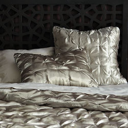 Madison Quilt + Shams - Retro-modern luxe for the bed.