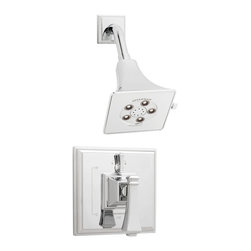 Speakman - Speakman Rainier Shower System with Diverter Valve in Polished Chrome - Speakman's Rainier Shower Valve System adds a unique square design to complete a bold look in the bathroom. The Rainier chrome faucet prevails a striking masculine update to your traditional styled bathroom fixtures. The newest design collection to the Speakman family; the Rainier Shower Valve System pairs with the Rainier collection of faucets and other bathroom accessories to present iconic exclusivity in any bathroom.