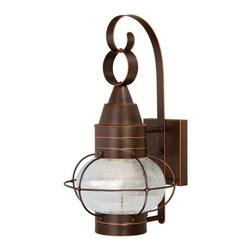 Vaxcel Lighting - Vaxcel Lighting T0053 Chatham 1 Light Outdoor LED Wall Sconce - Features: