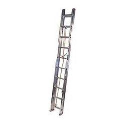 Werner D1120-2 20 ft. Aluminum Extension Ladder - Ideal for residential tasks such as painting, roofing, gutters and more, the Werner D1120-2 20 ft. Aluminum Extension Ladder gives you the height you need to get the job done. This ladder features a sturdy aluminum construction and offers a 200-pound duty rating. A rope and pulley system makes extension easy. Traction Tred D-rung steps are deeply serrated for sure footing.About WernerWerner is an industry leader that has manufactured and distributed ladders and climbing equipment for over 60 years. Werner ladders are found on more trucks and job sites than all other brands combined. Each product offers a state-of-the-art design and manufacturing process, creating professional-grade products that are made to be utilized in the home as well as on the job site. Werner Co. products are built to meet or exceed all applicable American National Standards Institute (ANSI) and Occupational Safety and Health Administration (OSHA) code requirements.