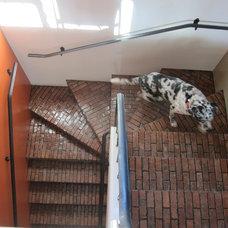 Contemporary Staircase by Blake Civiello Architecture, AIA