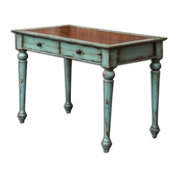 Uttermost - Uttermost - Axelle Writing Desk - 25635 - Features: