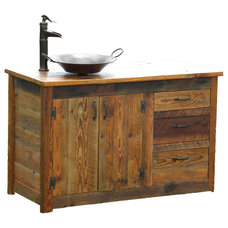 Rustic Bathroom Vanities And Sink Consoles by The Rusted Nail