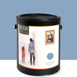 Imperial Paints - Eggshell Wall Paint, Gallon Can, Jazzy Blue - Overview: