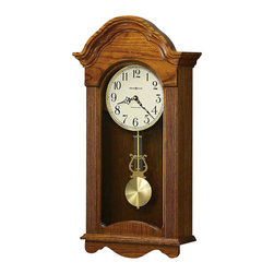 Howard Miller - Howard Miller Jayla Wood Wall Clock in a Legacy Oak Finish - Howard Miller - Wall Clocks - 625467 - For over 70 years Howard Miller has understood the need to create products that are steeped in quality and value and to never expect anything less than the best. No matter the price of the purchase you have Howard Miller's assurance of quality that is reflected in both the products they create and in the people whose artistic talents they rely on to manufacture them. Incomparable workmanship. Unsurpassed quality. A quest for perfection.