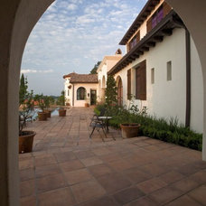 Mediterranean Exterior by Clay Imports