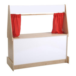ECR4KIDS - ECR4KIDS Puppet Theater - Dry Erase - ELR-0695 - Shop for Puppets from Hayneedle.com! About Early Childhood ResourcesEarly Childhood Resources is a wholesale manufacturer of early childhood and educational products. It is committed to developing and distributing only the highest-quality products ensuring that these products represent the maximum value in the marketplace. Combining its responsibility to the community and its desire to be environmentally conscious Early Childhood Resources has eliminated almost all of its cardboard waste by implementing commercial Cardboard Shredding equipment in its facilities. You can be assured of maximum value with Early Childhood Resources.