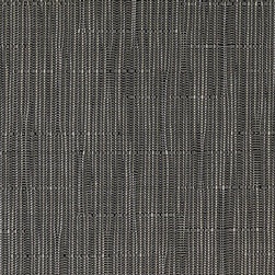 Chilewich - Chilewich Gray Flannel Bamboo Floor Mats - This gray flannel floormat is beautifully suited for your living room. While tailored to meet a modern sensibility, this bamboo woven vinyl rug seamlessly imparts Asian serenity. Wall-to-wall fashion.