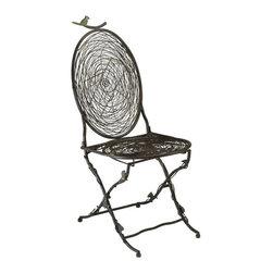 Cyan Design - Cyan Design Bird Accent Chair in Autumn Rust - Bird Accent Chair in Autumn Rust