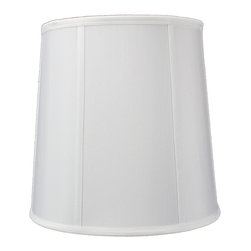 Home Concept - White Linen Fabric Drum Drum Premium Lampshade 10x12x12 - Celebrate Your Home - Home Concept invites you to welcome your guests with our array of lampshade styles that will instantly upgrade your space