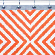 eclectic shower curtains by Zinc Door