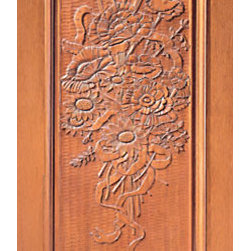 "Hand Carved 1-Panel Single Door in Mahogany - SKU#    Carved-5_1Brand    AAWDoor Type    ExteriorManufacturer Collection    Carved & MansionDoor Model    Door Material    WoodWoodgrain    MahoganyVeneer    Price    1380Door Size Options    30"" x Height"" (2'-6"" x 6'-8"")  $032"" x Height"" (2'-8"" x 6'-8"")  $036"" x Height"" (3'-0"" x 6'-8"")  +$1042"" x Height"" (3'-6"" x 6'-8"")  +$17036"" x Height"" (3'-0"" x 7'-0"")  +$11030"" x Height"" (2'-6"" x 8'-0"")  +$36032"" x Height"" (2'-8"" x 8'-0"")  +$36036"" x Height"" (3'-0"" x 8'-0"")  +$38042"" x Height"" (3'-6"" x 8'-0"")  +$380Core Type    SolidDoor Style    Door Lite Style    Door Panel Style    1 Panel , Hand Carved Panel , Raised Moulding , Raised PanelHome Style Matching    Mediterranean , Victorian , Old World , Elizabethan , Pueblo , SuburbanDoor Construction    True Stile and RailPrehanging Options    Prehung , SlabPrehung Configuration    Single DoorDoor Thickness (Inches)    1.75Glass Thickness (Inches)    Glass Type    Glass Caming    Glass Features    Glass Style    Glass Texture    Glass Obscurity    Door Features    Door Approvals    Door Finishes    Door Accessories    Weight (lbs)    340Crating Size    25"" (w)x 108"" (l)x 52"" (h)Lead Time    Slab Doors: 7 daysPrehung:14 daysPrefinished, PreHung:21 daysWarranty    1 Year Limited Manufacturer WarrantyHere you can download warranty PDF document."