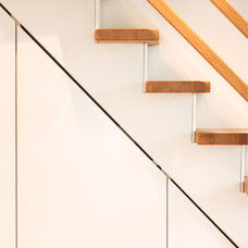 "Contemporary Staircase by Lisa Nieschlag ""Liz & Jewels"""