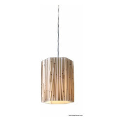 Elk Lighting 19061/1 1 Light Mini Pendant Modern Organics Collection