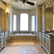 Traditional Bathroom by Maple Ridge Cabinetry
