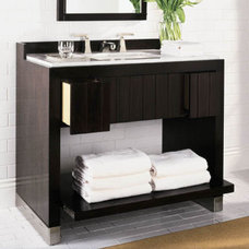 contemporary bathroom vanities and sink consoles by ANN SACKS