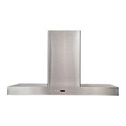 "Atlas International Inc - Euro Stainless Steel Range Hood 36"" - Cavaliere, Wall Mount - Cavaliere Stainless Steel 218W"