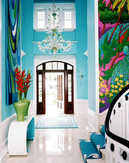 Eclectic Entry by Marie Grabo Designs