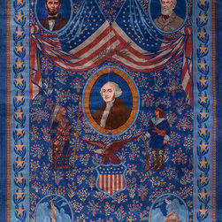 Antique & Vintage European Carpets - Happy Independence Day from Rahmanan Antique & Decorative Rugs!