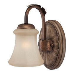 Minka Lavery - Minka Lavery 6121-563 1 Light Bathroom Sconce from the Candlewood Collection - Single Light Bathroom Sconce from the Candlewood CollectionFeatures: