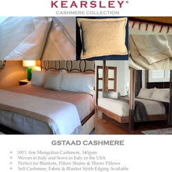 Digital Sample Book - Kearsley Couture Gstaad  Mongolian cashmere woven in Italy information.