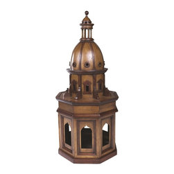 """Authentic Models - Authentic Models Duomo Due - Duomo Due is an indispensable item for architecture students and people fascinated by architectural designs and structures. Reminiscent of Renaissance period, this model constructed from cherry and birch wood has elegance written all over it. The curves and arches in this beautiful item are crafted from wood and is of honey colour. Duomo Due will surely amplify the charm of your interior space.     Built in reference to early Renaissance architecture   Crafted from wood and is of honey colour   Incredible gift for students of architecture and professionals from the same field   Dimension: 10"""" (L) X 10"""" (W) X 24.4"""" (H) Inches"""