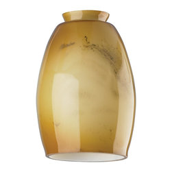 """Westinghouse Lighting - Westinghouse Lighting 2 1/4 Lamp Shade, Amber and Brown (4-Pack) (8130300) - Westinghouse Lighting 8130300 2 1/4"""" Lamp Shade, Amber and Brown (4 Pack)"""