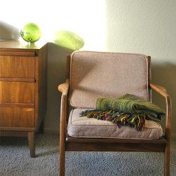 Danish Mid Century Teak Lounge Chair - Sarah Baumbach