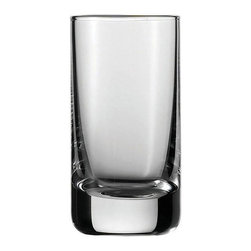 Fortessa Inc - Schott Zwiesel Tritan Convention Shot Glasses - Set of 6 Multicolor - 0005.17554 - Shop for Drinkware from Hayneedle.com! Even a mini-drink can be elegant and stylish with the Schott Zwiesel Tritan Convention Shot Glasses - Set of 6. The durable and beautiful scratch-resistant clear glass is the perfect complement to any occasion. The dishwasher-safe design means easy cleaning.About Fortessa Inc.You have Fortessa Inc. to thank for the crossover of professional tableware to the consumer market. No longer is classic high-quality tableware the sole domain of fancy restaurants only. By utilizing cutting edge technology to pioneer advanced compositions as well as reinventing traditional bone china Fortessa has paved the way to dominance in the global tableware industry.Founded in 1993 as the Great American Trading Company Inc. the company expanded its offerings to include dinnerware flatware glassware and tabletop accessories becoming a total table operation. In 2000 the company consolidated its offerings under the Fortessa name. With main headquarters in Sterling Virginia Fortessa also operates internationally and can be found wherever fine dining is appreciated. Make sure your home is one of those places by exploring Fortessa's innovative collections.