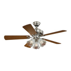 """Vaxcel - Vaxcel F0010 Orchard 44"""" Ceiling Fan - Vaxcel Lighting AireRyder F0010 Orchard 44-in Ceiling Fan This Vaxcel Lighting product comes in a satin nickel finish. Works with three 60-watt frosted"""