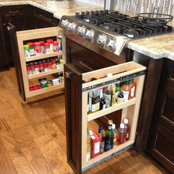 Bartlett St. - Custom Kitchen Cabinets by Wright Cabinetry