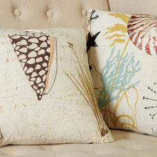 Tropical Pillows Seashell & Nautilus Pillows
