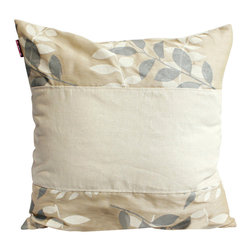 Blancho Bedding - [Fairy Tale] Linen Stylish Patch Work Pillow Floor Cushion (19.7 by 19.7 inches) - Aesthetics and Functionality Combined. Hug and wrap your arms around this stylish decorative pillow measuring 19.7 by 19.7 inches, offering a sense of warmth and comfort to home buddies and outdoors people alike. Find a friend in its team of skilled and creative designers as they seek to use materials only of the highest quality. This art pillow by Onitiva features contemporary design, modern elegance and fine construction. The pillow is made to have invisible zippers, linen shells and fill-down alternative. The rich look and feel, extraordinary textures and vivid colors of this comfy pillow transforms an ordinary, dull room into an exciting and luxurious place for rest and recreation. Suitable for your living room, bedroom, office and patio. It will surely add a touch of life, variety and magic to any rooms in your home. The pillow has a hidden side zipper to remove the center fill for easy washing of the cover if needed.