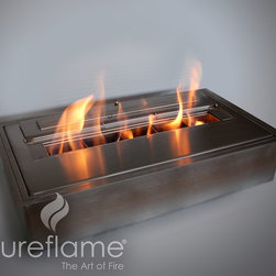 10 Quart Burner Insert - The 10 Quart Burner Insert is precisely made to work with top performance. It is built with a powder coated carbon steel and a durable stainless steel burner. The flame creates a powerful look and warms the area.