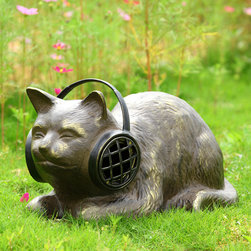 Headphone Cat with Bluetooth Speakers - Shipping is included in the price!