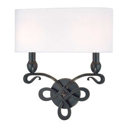 Hudson Valley Lighting - Hudson Valley Pawling I-2 Light Wall Sconce in Old Bronze - Hudson Valley Lighting's Pawling's I-2 Light Wall Sconce shown in Old Bronze. A perfect duet of poise and energy, Pawling's looping metal scrollwork transposes the charm of classic design onto a forward-looking collection. The wispy finish of the gracefully sweeping arms makes a memorable fashion statement that is sure to be coveted for ages hence.