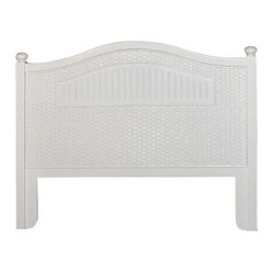 Cottage Wicker Headboard, Full or Queen