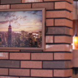 Empire State New York Tray/Wall Art - It's a tray; It's wall art. It's BOTH, and It's Made In the USA!