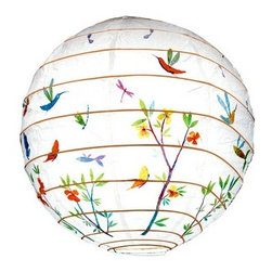 Djeco Spring Flowers Lantern - Add a comforting glow to bedtime with this floral lantern. Delicate paper surrounds a wooden frame to add beautiful decor in the daytime, and a dreamlike scene at night.
