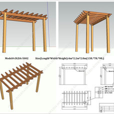 Traditional Gazebos by Oulida International Co.,Limited