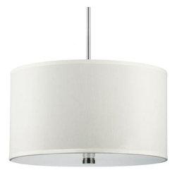 Sea Gull Lighting - Drum Pendant - Sea Gull Lighting 65263-962  in Brushed Nickel